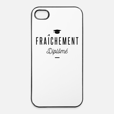 Fac fraichement diplomé - Coque rigide iPhone 4/4s