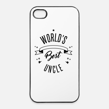 Planeet WORLD'S BEST UNCLE - iPhone 4/4s hard case