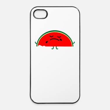 Emo Melon mordu - Coque rigide iPhone 4/4s