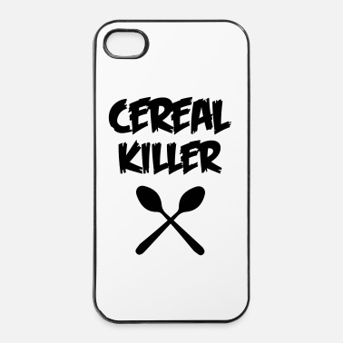 Health CEREAL KILLER (muesli / cornflakes)  - iPhone 4/4s hard case