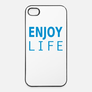 Popolare enjoy life - Custodia rigida per iPhone 4/4s