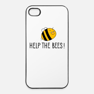 Bee Help the bees (a) - iPhone 4 & 4s Case
