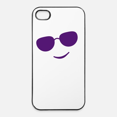 Sunglasses sunglasses smile black - iPhone 4 & 4s Case