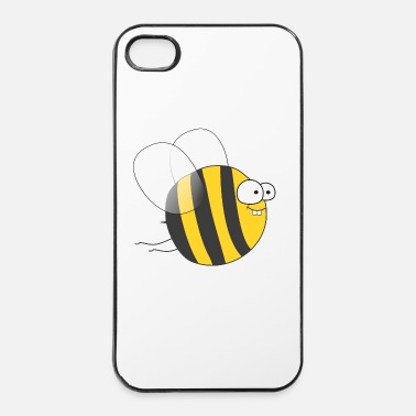 Abeja Cool & Crazy Funny Bee / Bumble Bee (Sweet & Cute) - Carcasa iPhone 4/4s