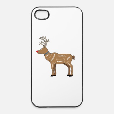 Nose Reindeer Meat for Christmas - iPhone 4 & 4s Case