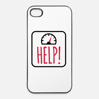 Dieet Weegschaal - iPhone 4/4s hard case