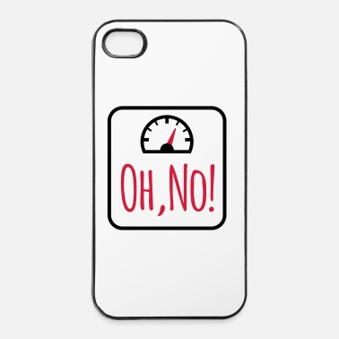 Nee Dieet - iPhone 4/4s hard case