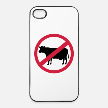 Koe Vegetariër - iPhone 4/4s hard case