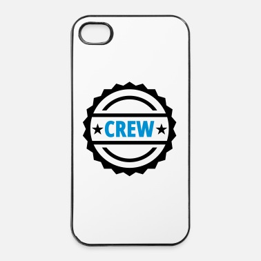 Ambtenaar Bemanning Crew - iPhone 4/4s hard case