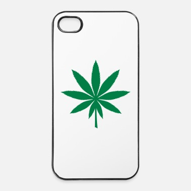 Spliff Hemp leaf - iPhone 4/4s Hard Case