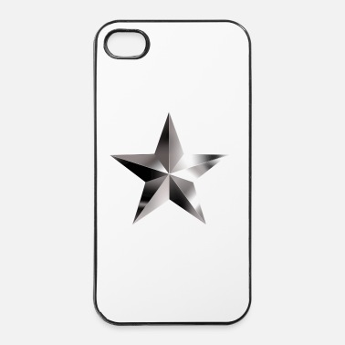Collections Star steel 1 - iPhone 4/4s Hard Case