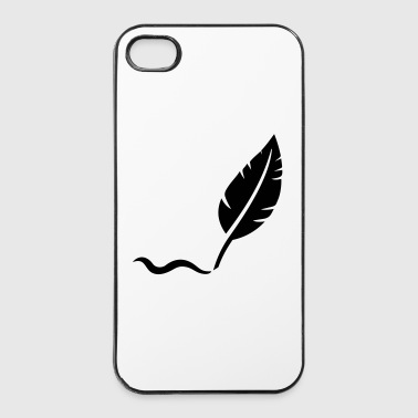 Plume  - Coque rigide iPhone 4/4s
