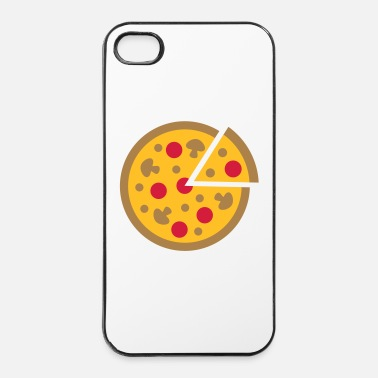 Pizza Pizza - Custodia rigida per iPhone 4/4s