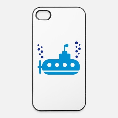 Vers Le Bas Sous-marin - Coque rigide iPhone 4/4s