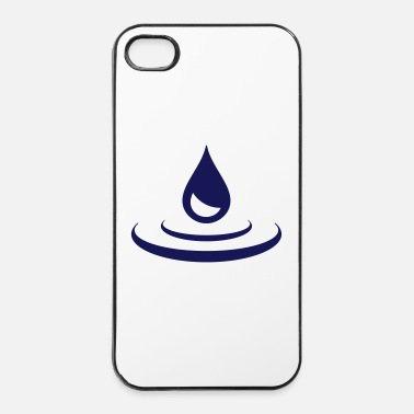 Water Druppels - iPhone 4/4s hard case