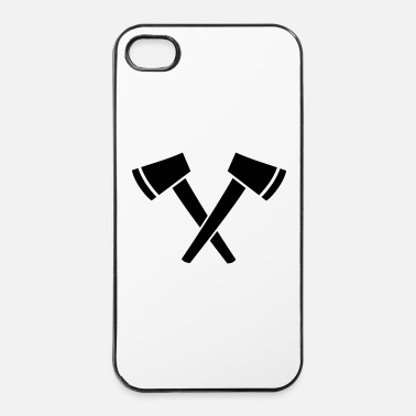 Medievale Ascia - Custodia rigida per iPhone 4/4s