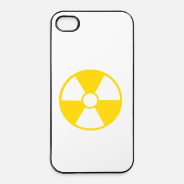 Radioactif danger radioactif - Coque rigide iPhone 4/4s