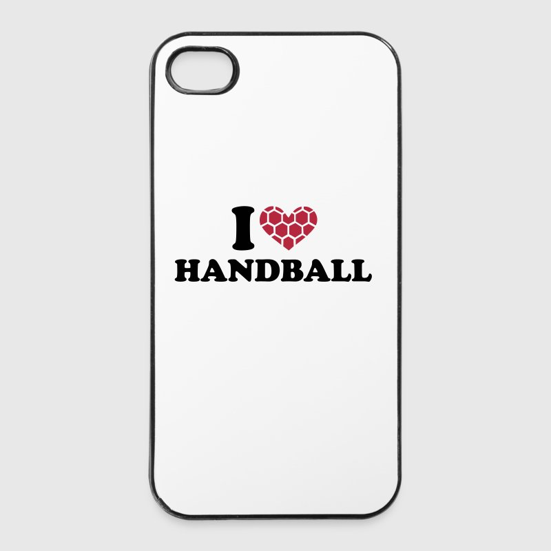 I love handball - iPhone 4/4s hard case
