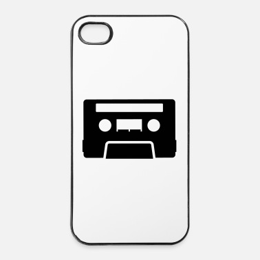 Vinyl Cassette - Coque rigide iPhone 4/4s