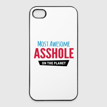 Asshole Awesome asshole - iPhone 4/4s Hard Case