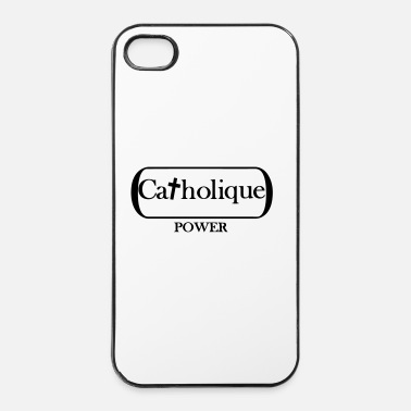 Chrétien cathopower - Coque rigide iPhone 4/4s
