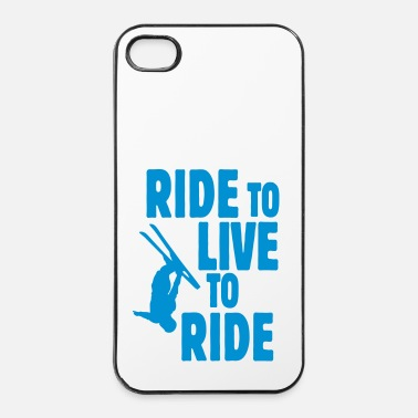 Freestyle ride to live, live to ride ii - iPhone 4/4s hard case