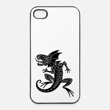 Rettile Drago - Custodia rigida per iPhone 4/4s