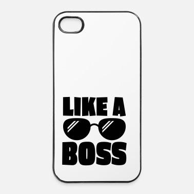 Scène like a boss 1c - Coque rigide iPhone 4/4s
