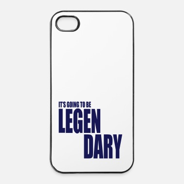 Legendario it's going to be legendary 1c - Carcasa iPhone 4/4s
