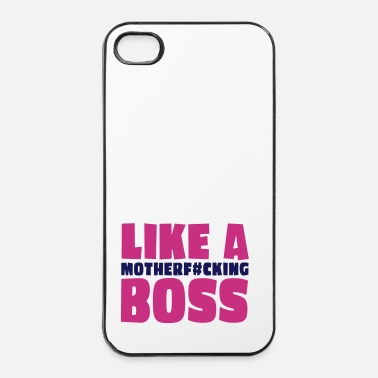 Scène like a motherfcking boss 2c - Coque rigide iPhone 4/4s