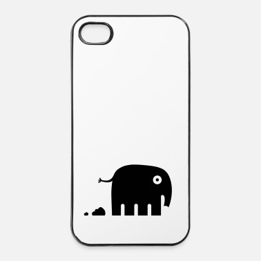 Lift elephant oops - iPhone 4/4s hard case