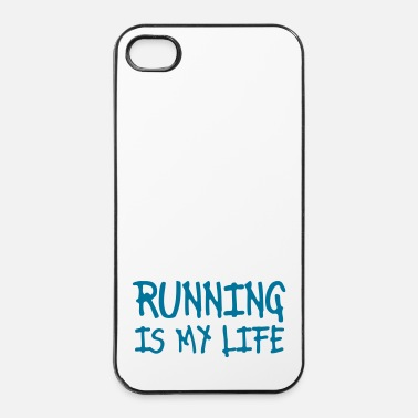 Correr running is my life - Carcasa iPhone 4/4s