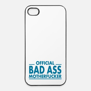Gamer official bad ass motherfucker / badass - iPhone 4/4s kovakotelo