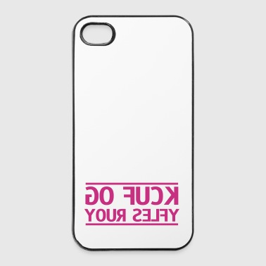 go fuck your selfie - Twarde etui na iPhone 4/4s
