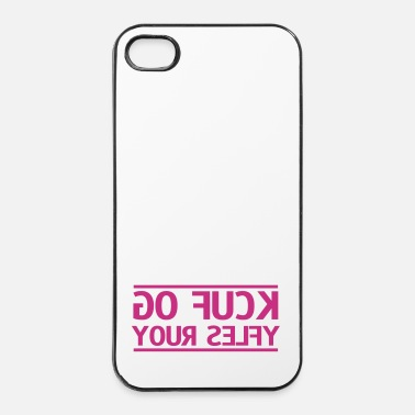 Selfie go fuck your selfie - iPhone 4/4s hard case