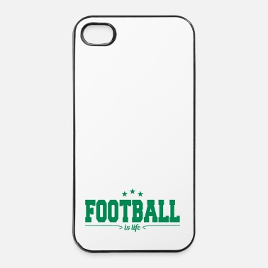 American Football football is life 4 - iPhone 4/4s hard case
