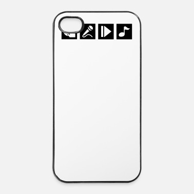 Swagg DJ, sing, play, music - iPhone 4/4s Hard Case