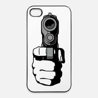 Revolver gun - i shoot you - Coque rigide iPhone 4/4s