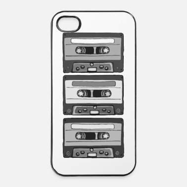 Old School Colorless Cassettes - iPhone 4/4s kovakotelo