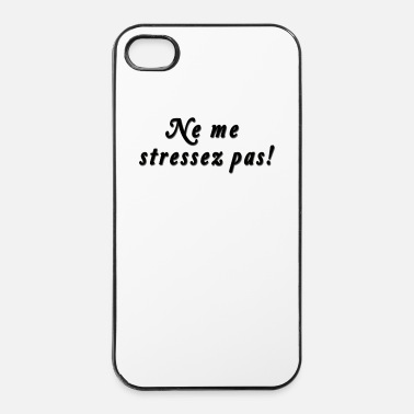 Job Ne me stressez pas ! - Coque rigide iPhone 4/4s