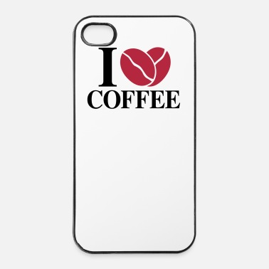 Agradable I Love Coffee   - Carcasa iPhone 4/4s