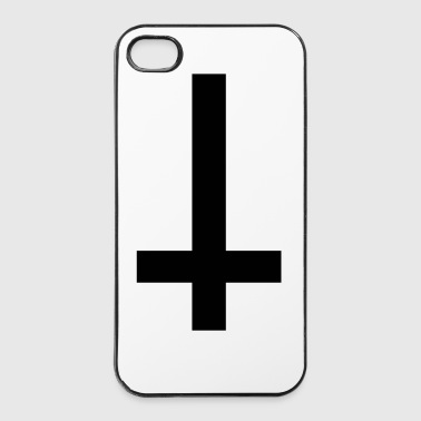 Cross Antichrist reversed 1c - iPhone 4/4s Hard Case