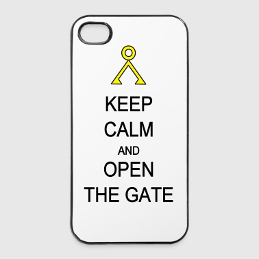 Open the Gate - iPhone 4/4s Hard Case
