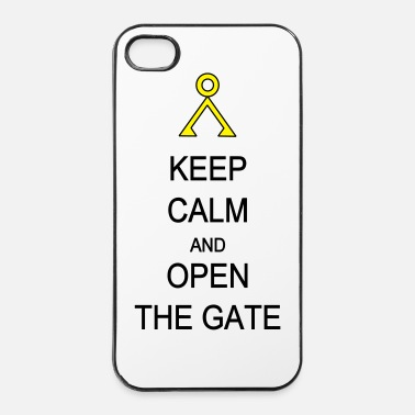 Relax Open the Gate - Coque rigide iPhone 4/4s