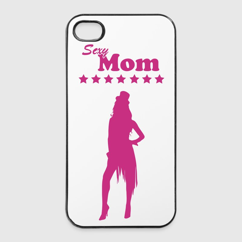 Sexy Mom\/Mommy\/Mom\/MOM 1 c - iPhone 4/4s Hard Case