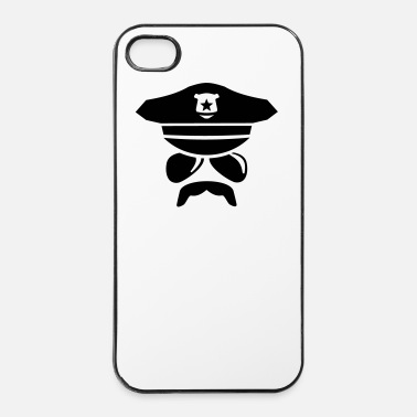 Cop Cop - politieagent - iPhone 4/4s hard case