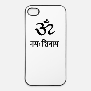 Om Om Namah Shivaya Mantra  - Custodia rigida per iPhone 4/4s