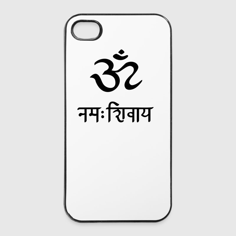 Om Namah Shivaya  mantra méditation   - Coque rigide iPhone 4/4s