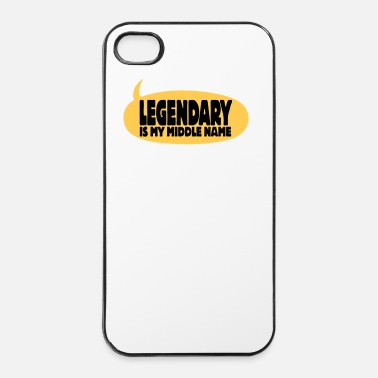 Fête De Mariage legendary is my middle name I - Coque rigide iPhone 4/4s