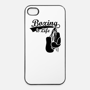 Boxe Boxing Gants de boxe boxer Boxe anglaise - Coque rigide iPhone 4/4s